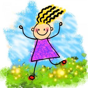 happy-stick-girl-clip-art