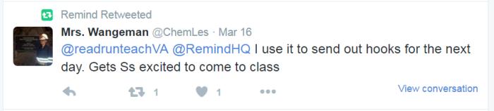 Remind   RemindHQ    Twitter2